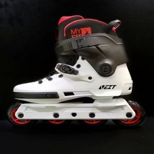 Desde @powerslide_es nos llega esta maravilla de Next Black and white 4x90. ¿Qué tiene de raro? ¿Qué tiene de diferente? ¿Por qué lo veo tan espectacular? . Pues porque en @impulsosurbanos se personaliza cada patín por patinadores para patinadores, en este caso... ¡Éste me lo quedo yo! . . Si quieres un patín a tu medida y customizado a tu gusto, no dudes en contactar con nosotros💥💥 . #powerslide #rollerblading #inlineskating #inlineskates #patins #patines #rollers #patinaje #patinando #patinajeenlinea #rolki #skates #skating #blading #blader #bigwheelblading #fitnessskating #freeskate #freeride #slalom #slides #derrapes #freestyleslalom #powerslidenext #undercoverwheels #ucwheels #unetealimpulso #impulsosurbanos